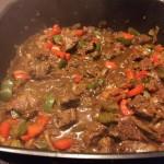 Gulasch kochen