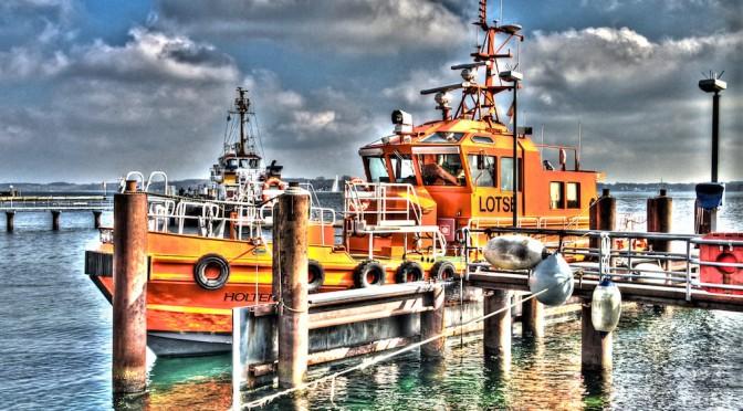 Lotsenboot Holtenau