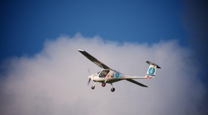 Elektroflug-Weltrekord